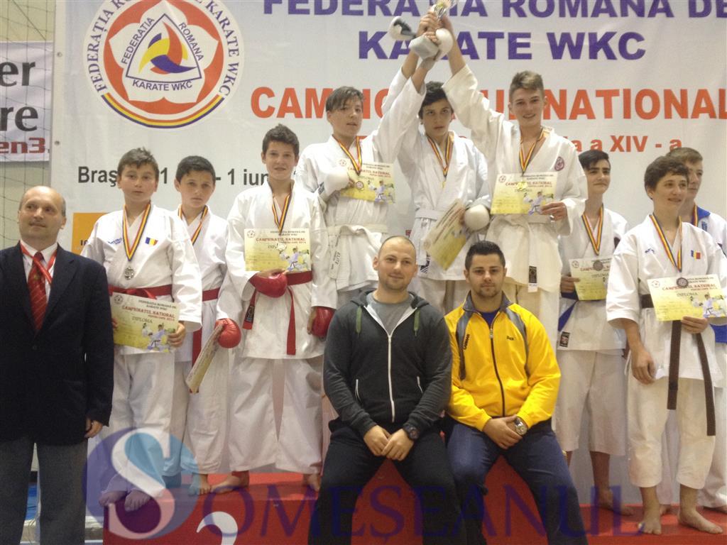 Budokan Ryu campionat national karate WKC copii (1)