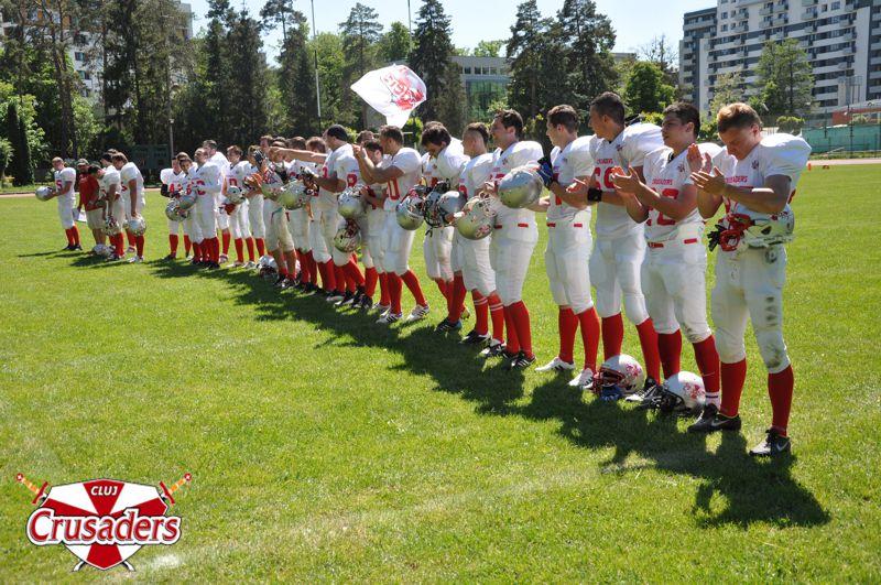 Cluj Crusaders castiga la masa verde meciul cu Baia Mare Miners