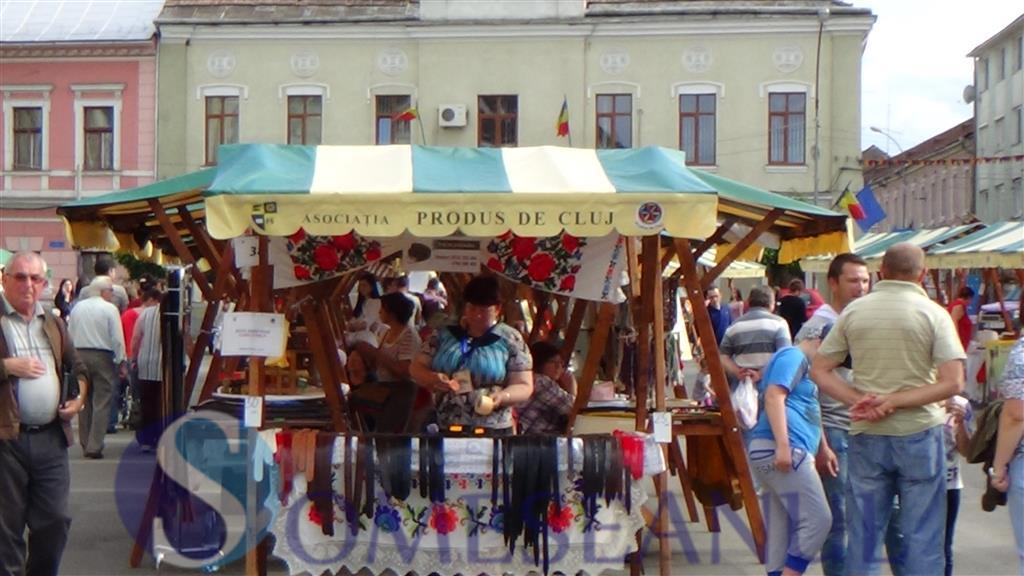 Prima zi de targ Produs de Cluj la Dej