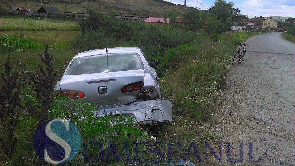 accident Gherla tamponare