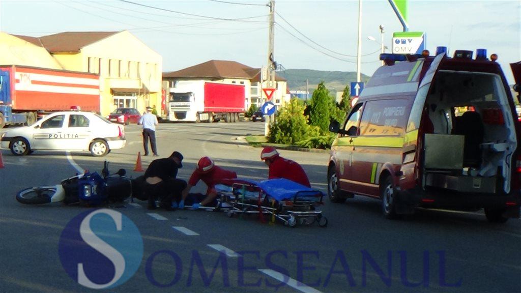accident motocicleta Dej (1)