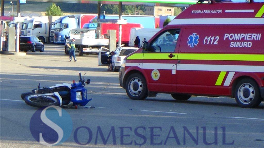 accident motocicleta Dej (3)
