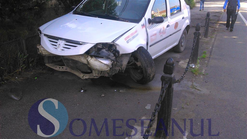 accident taxi gherla-4