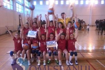Echipa de babybaschet CSS LAPI Dej, locul I la Brașov – FOTO