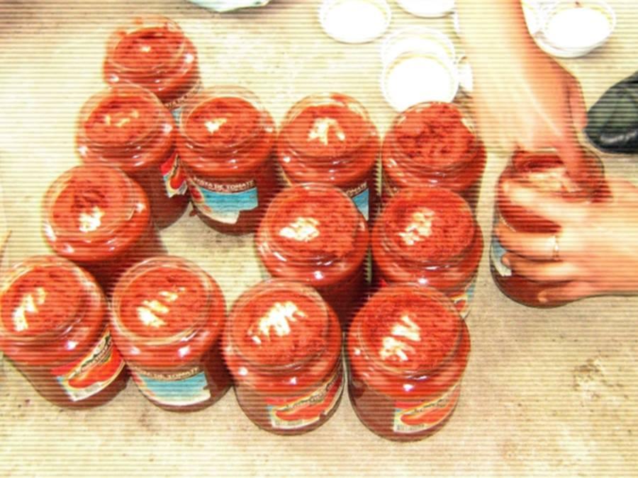 contrabanda tigari pasta de tomate