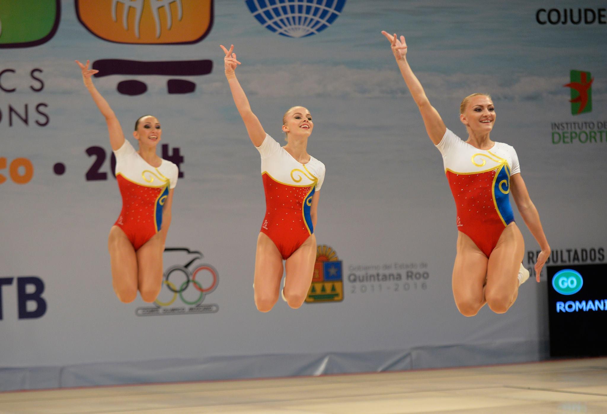 Medalia de aru pentru Romania la CM gimnastica aerobica