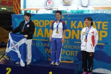O clujeancă a câștigat aurul la Campionatul European de Karate WUKF – FOTO