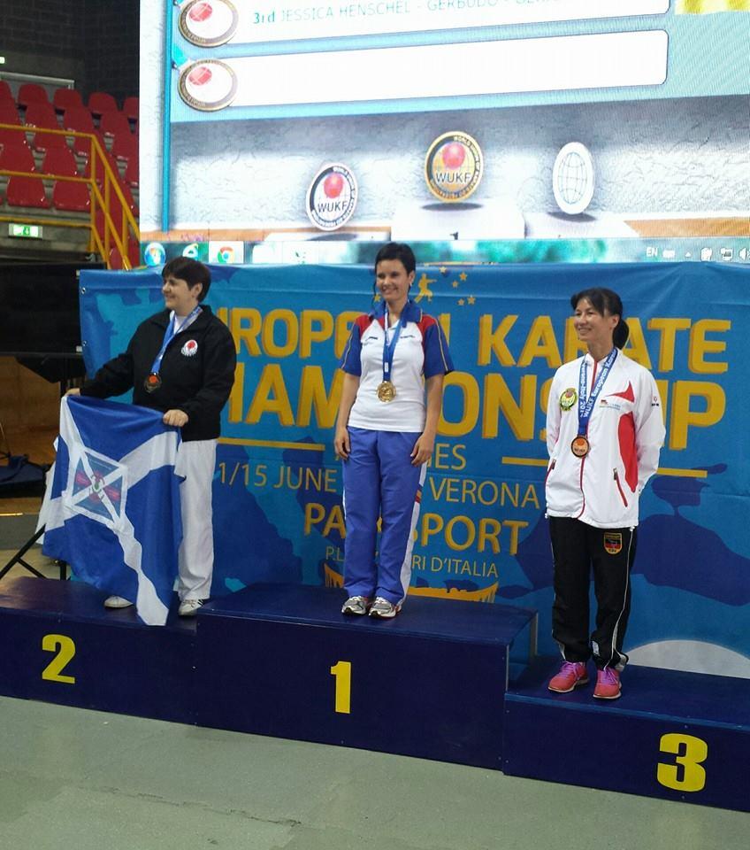 eva kerekes Campionatul European de Karate