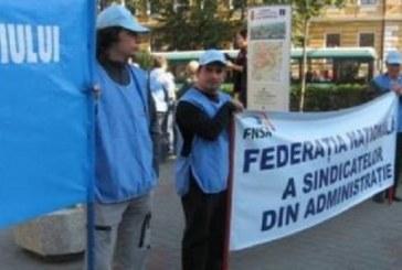 Proteste de amploare pregătite de sindicatele din administrația publică