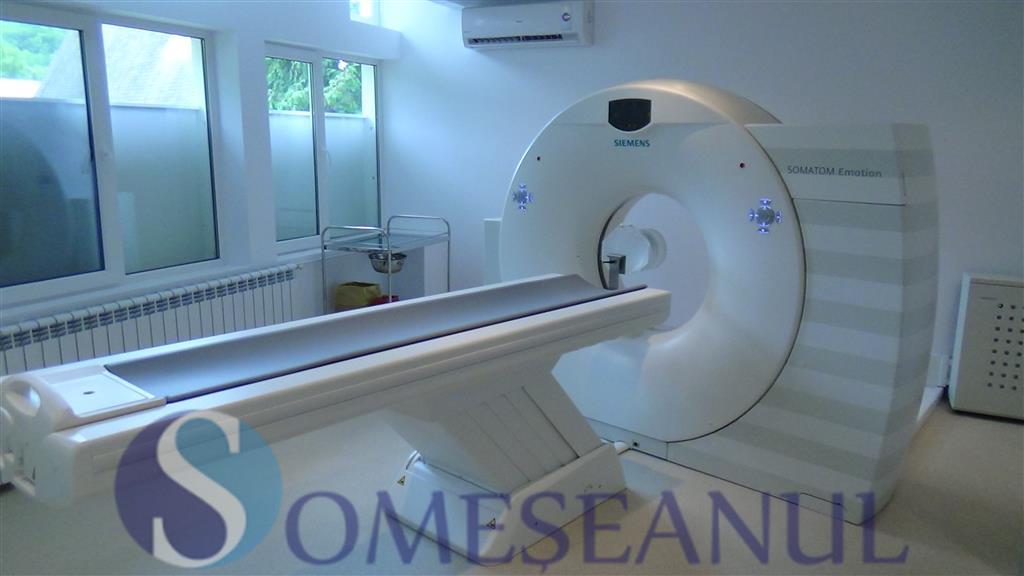 inaugurare tomograf Spital Dej