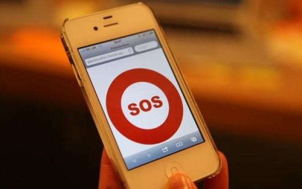 mesaj SOS smartphone