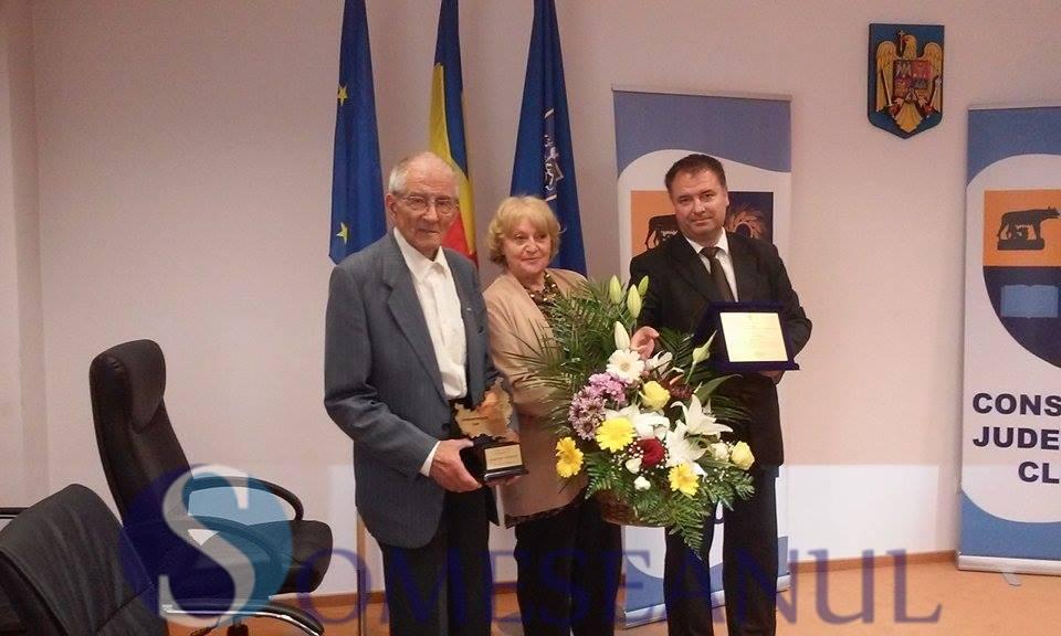 Iosif Viehmann speolog - Cetatean de Onoare al judetului Cluj