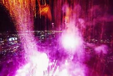 SPECTACULOS! Cum se vede un foc de artificii filmat cu o dronă chiar din mijlocul exploziilor – VIDEO HD