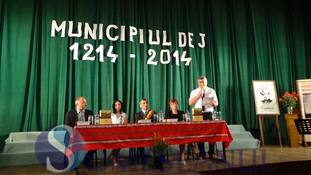 Lansare carte Constantin Albinetz - Monografia orasului Dej