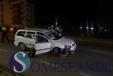 Băut la volan, a furat un taximetru și a provocat un accident FOTO/VIDEO