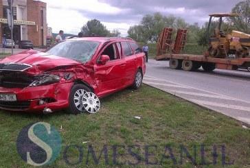 Două mașini au fost implicate în accident la Sărățel