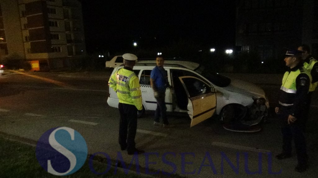 accident taximetru furat dej