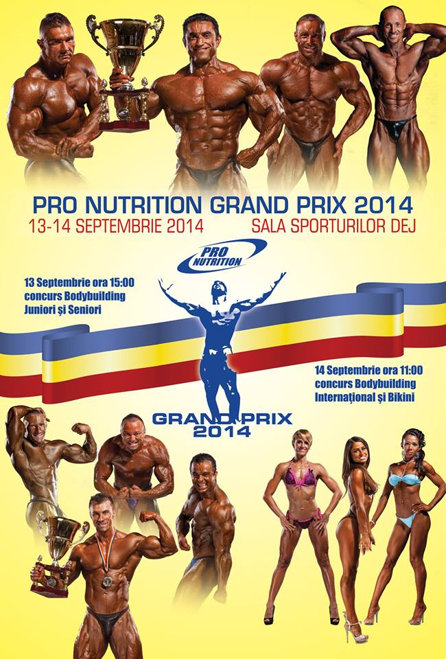 afis grand prix pro nutrition 2014