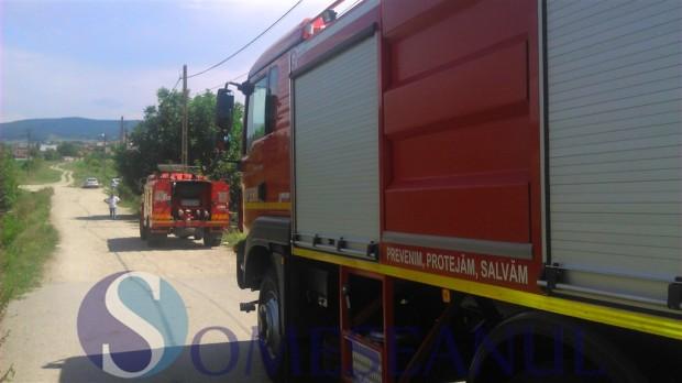 incendiu gherla pompierii-11