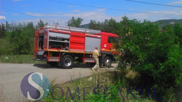 incendiu gherla pompierii-2