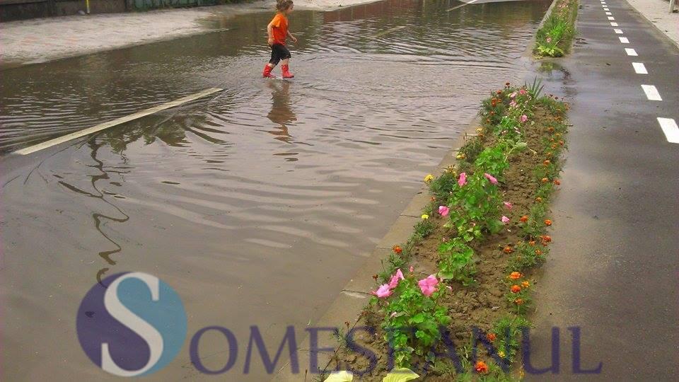 inundatii Gherla strada Reformei (4)
