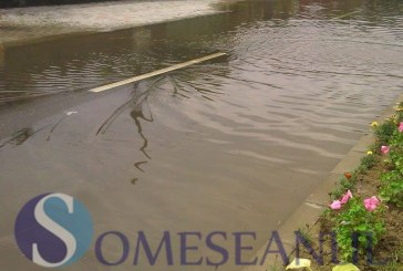 Cod galben de inundații pe râurile Crasna, Tur și Bârzava, în următoarele ore
