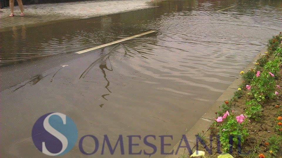inundatii Gherla strada Reformei (5)
