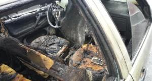 masina incendiata cluj 2