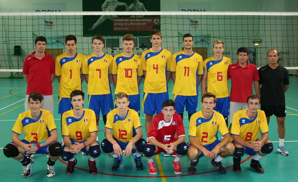 nationala cadeti volei aur balcanic