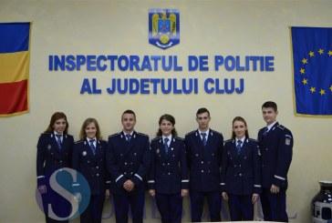 Inspectoratul de Poliție Județean Cluj are din această săptămână 7 noi ofițeri – FOTO