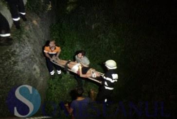 De la manelotecă, direct în vale. O tânără de 20 de ani a căzut de pe pod, la Dej – FOTO/VIDEO