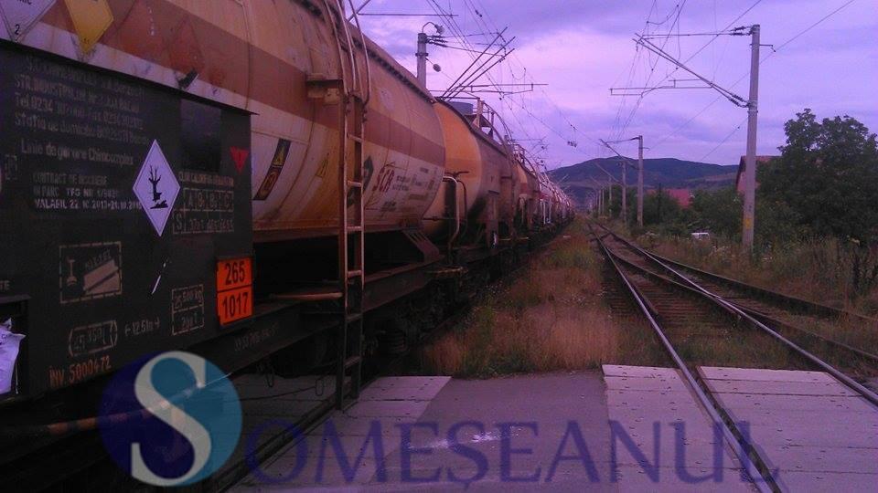 tren ramas blocat la Gherla (3)