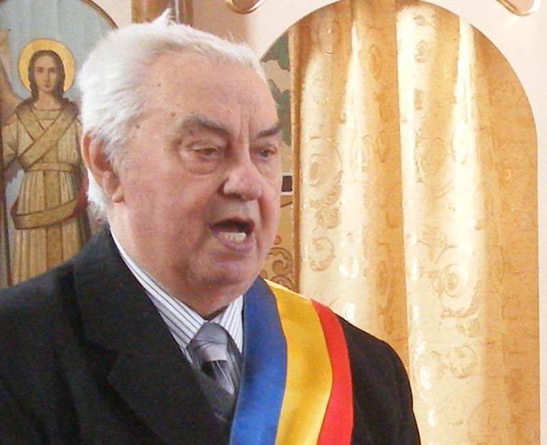 Constantin Rusu primar Ciceu Giurgesti