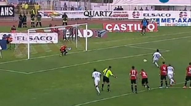 FC Botosani - U cluj penalty