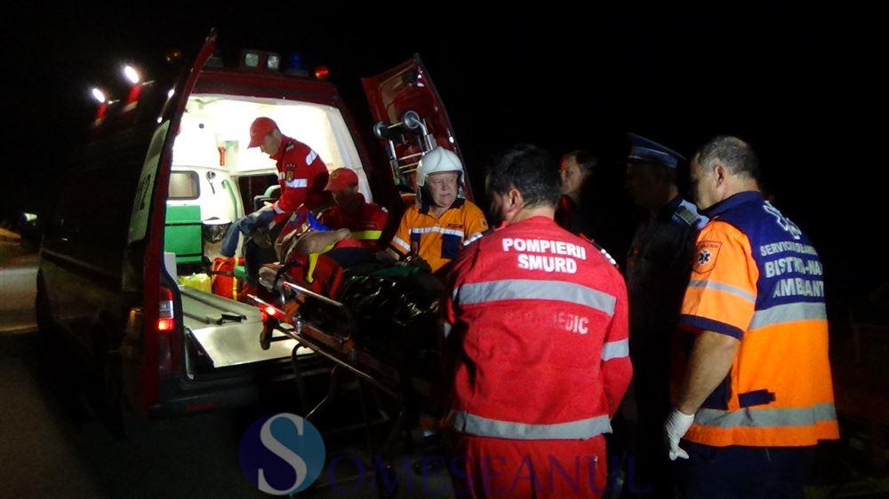 accident Ciceu GIurgesti masina in vale (1)