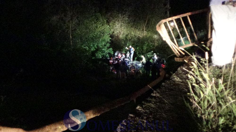 accident Ciceu GIurgesti masina in vale (6)