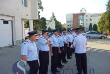 ISU CLUJ: 53 de pompieri au fost avansaţi în grad, 8 dintre ei fiind din Dej – FOTO