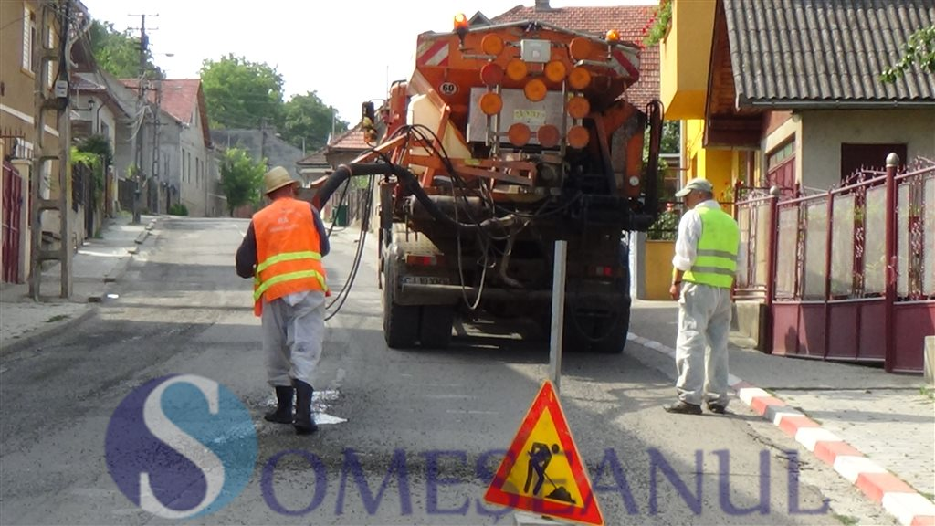 situatie reabilitare drumuri Dej august 2014 (1)