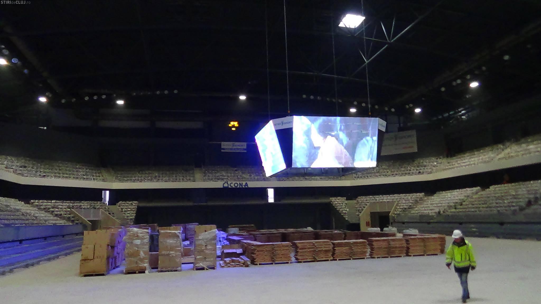videobox sala polivalenta cluj