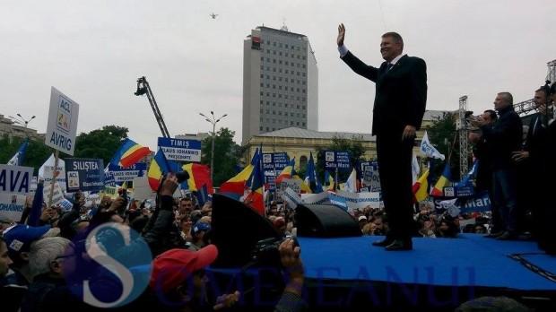 Iohannis lansare candidatura