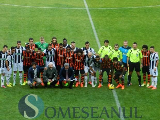 U Cluj-Sahtior fotbal