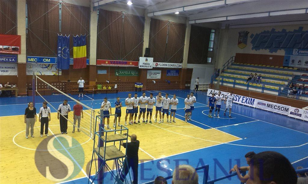 Unirea Dej - VCM LPS Piatra Neamt - turneu Dej sept 2014 (1)