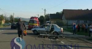 accident Nima masina stalp  (1)