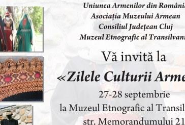"""Zilele Culturii Armene la Cluj. Se lansează și cartea """"Orașul Liber Regal Gherla"""""""