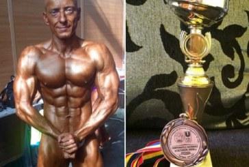 Dejeanul Attila Katona, medaliat cu bronz la Campionatele Naționale de Culturism – FOTO