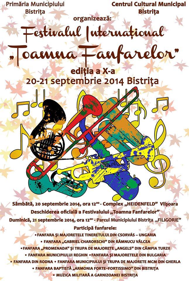 festivalul fanfarelor bistrita 2014