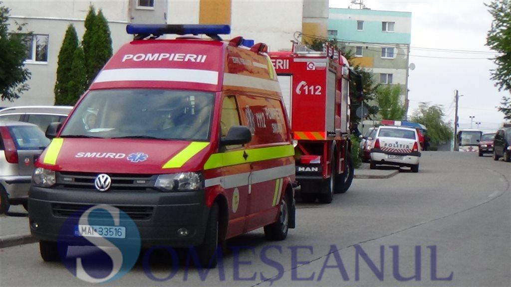 interventie pompieri smurd dej (1)