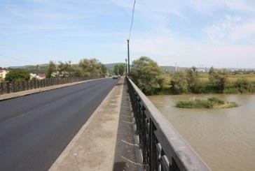 Atenție șoferi! De vineri se reiau lucrările la podurile de la ieșire din Dej