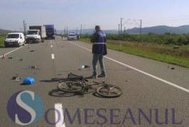Accident mortal la Gâlgău. Un biciclist și-a pierdut viața