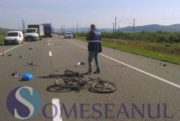 Clujean accidentat mortal de un autoturism aflat în depășirea unui TIR